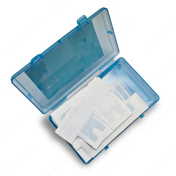Premium Blue Assorted Catering Plasters (Box of 120) 1