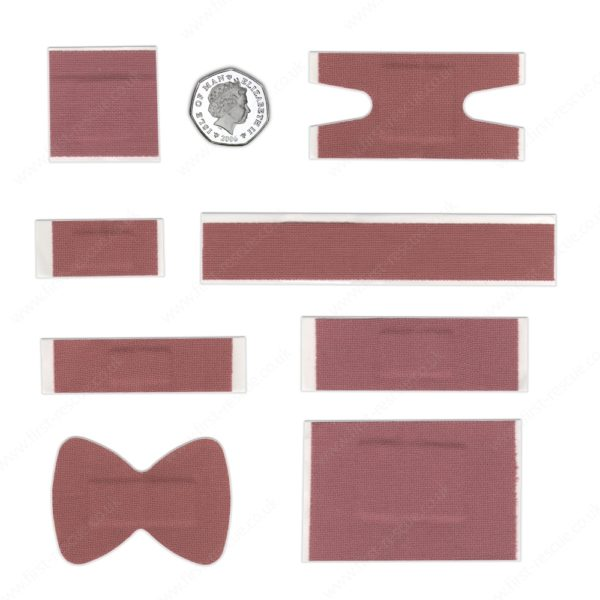 Premium Fabric Assorted Plasters (Box of 120) 5
