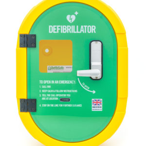 Defibsafe 2 Secure Outdoor Defibrillator Cabinet - Unlocked 1