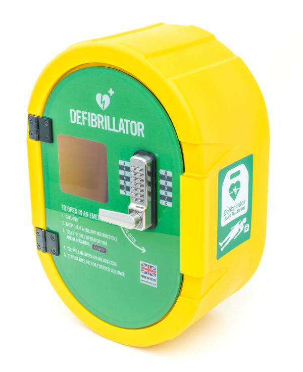 Defibsafe 2 Secure Outdoor Defibrillator Cabinet 8