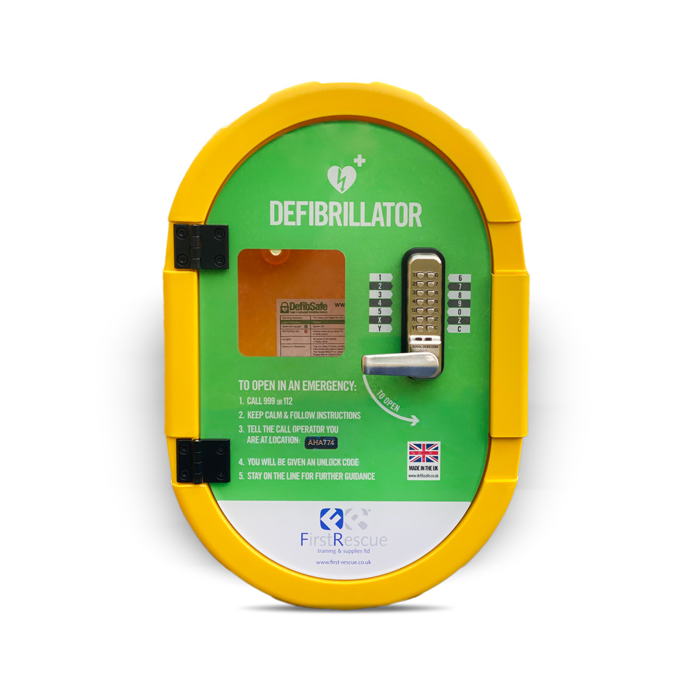 Defibsafe 2 Secure Outdoor Defibrillator Cabinet Locked