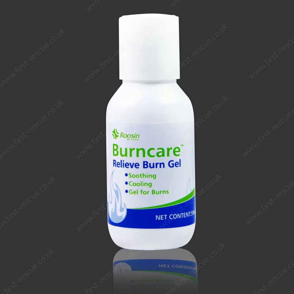 burncare burn gel in bottle