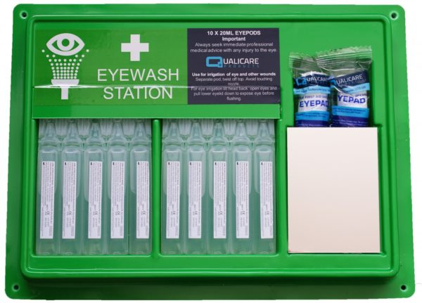 Emergency Eye Wash Pod Station 1
