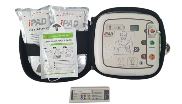 iPAD SP1 Fully-Automatic Defibrillator Outdoor Package 4