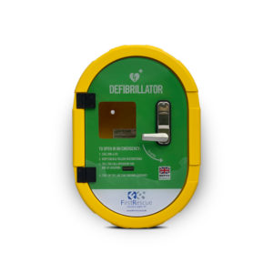 Defibsafe 2 Secure Outdoor AED Cabinet no lock
