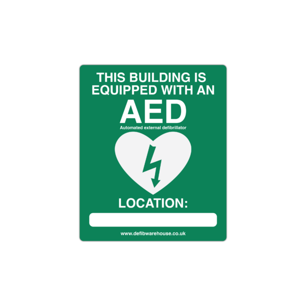 AED Location wall sign