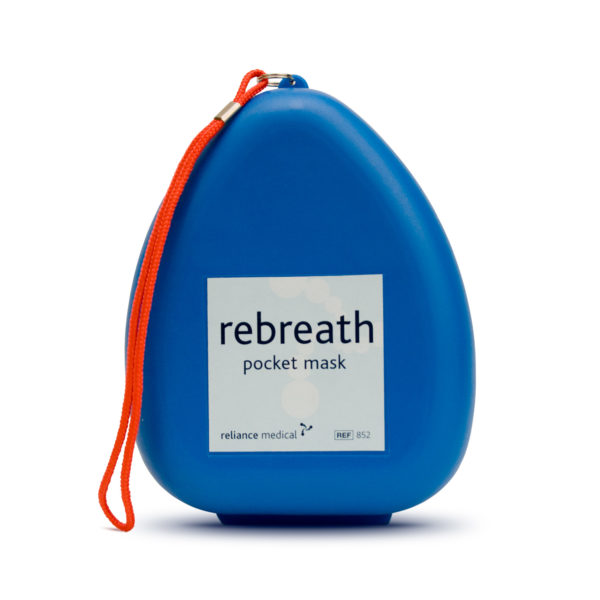 Re-usable CPR Pocket Mask (Supplied In Hard Case) 1