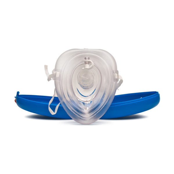 Re-usable CPR Pocket Mask (Supplied In Hard Case) 2