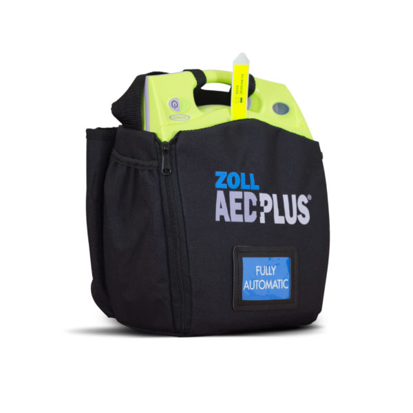 ZOLL AED Plus Fully-Automatic Defibrillator Wall Hanger Package 3