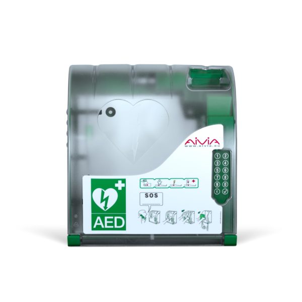 AIVIA 210 Outdoor AED Cabinet with Lock