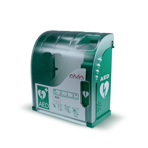 AIVIA 200 AED Cabinet c/w Alarm & Heating (Outdoor)
