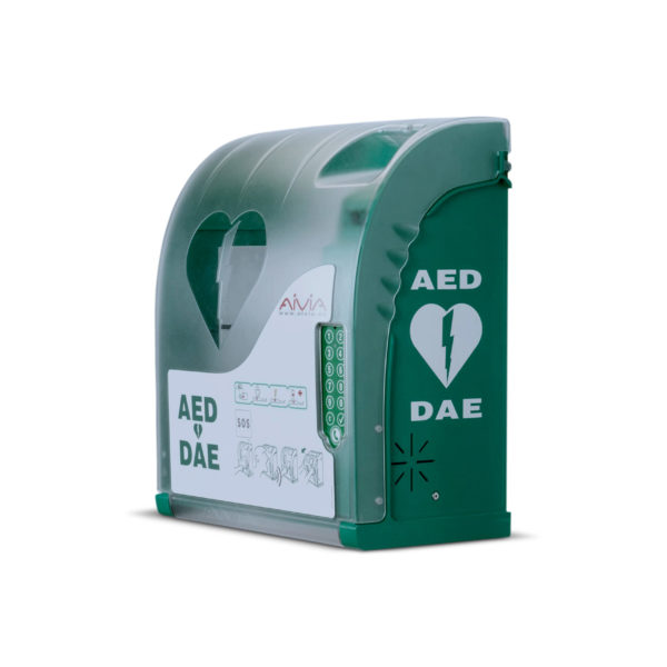AIVIA 210 Outdoor AED Cabinet With Lock 2