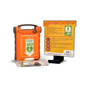 Cardiac Science Powerheart G5 Fully Automatic AED & Wall Hanger Package