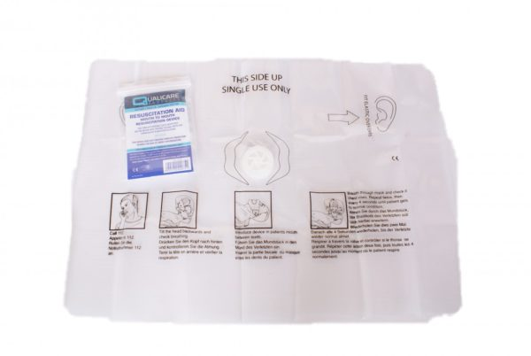 CPR Resuscitation Face Shield with One Way Valve