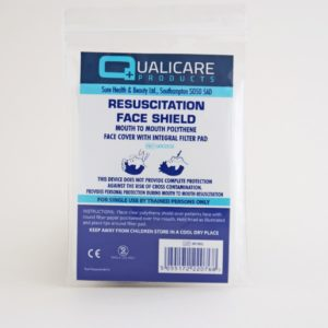 CPR Resuscitation Face Shield with Filter pad