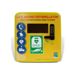 4000 Series Secure Outdoor Defibrillator Cabinet Polycarbonate 3