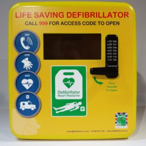 4000 Series Secure Outdoor Defibrillator Cabinet Polycarbonate 4