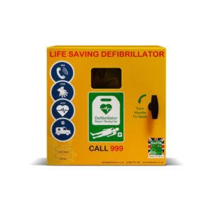 Defibstore 1000 Steel Outdoor AED Cabinet