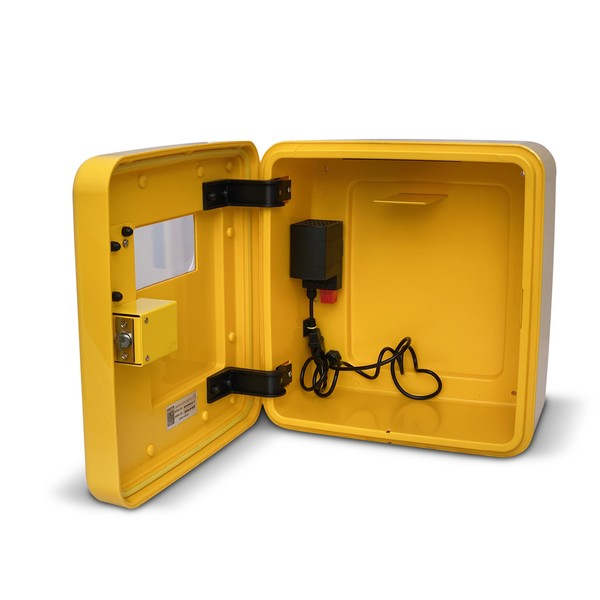 DefibStore 4000 Secure Outdoor AED Cabinet