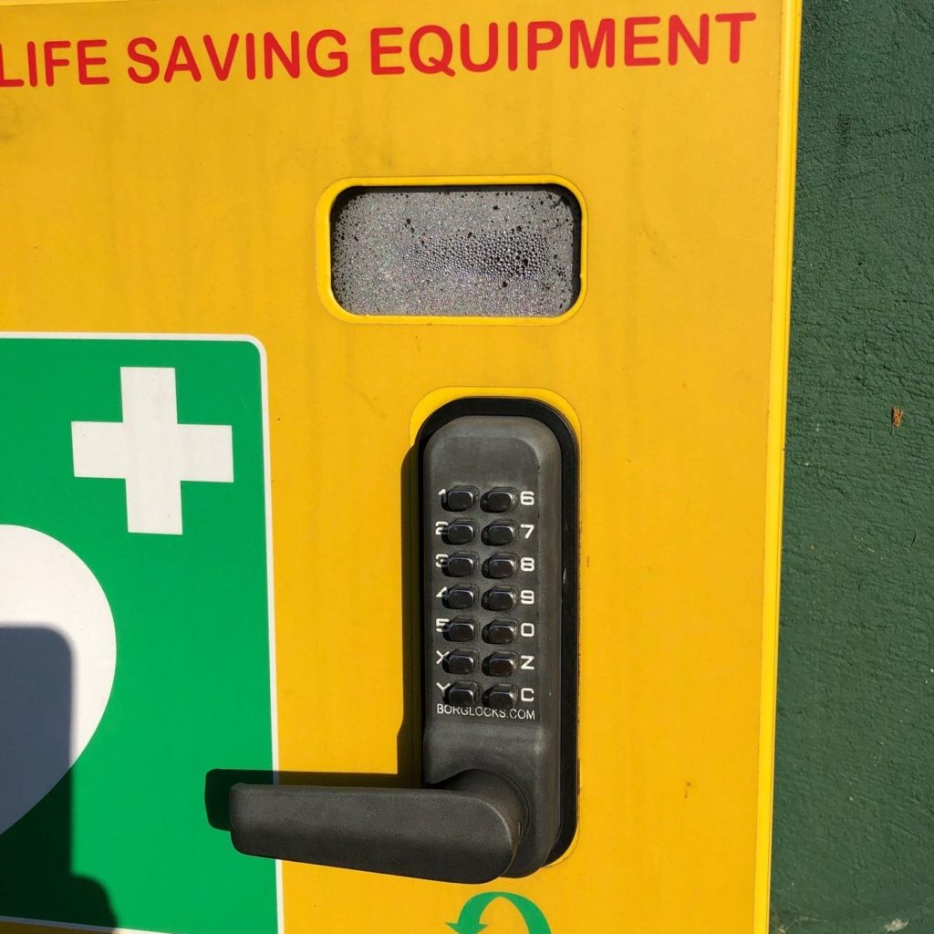 Check your defib cabinet! 7