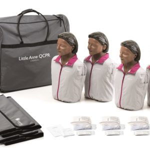 Laerdal Little Anne QCPR 4 Pack (Dark Skin)