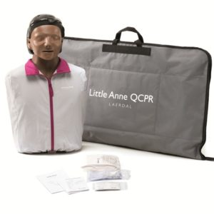 Laerdal Little Anne QCPR Manikin (Dark Skin)