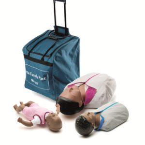 Laerdal Little Family Pack of QCPR Manikins (Dark Skin)