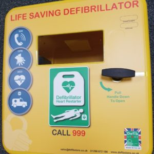 4000 Series Outdoor Defibrillator Cabinet (Non-Locking) 1