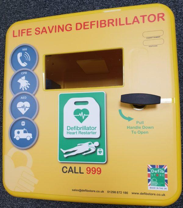 4000 Series Outdoor Defibrillator Cabinet (Non-Locking) 1