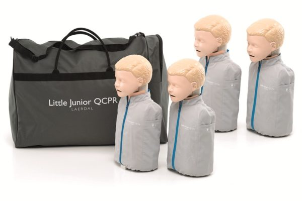 Laerdal little Junior Manikin 4 pack QCPR