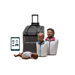 Laerdal Little Family of QCPR Manikins (Dark Skin)