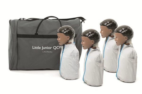 Laerdal little Junior Manikin dark skin 4 pack QCPR