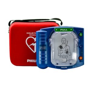 Philips HeartStart HS1 Defibrillator with Standard Carry Case
