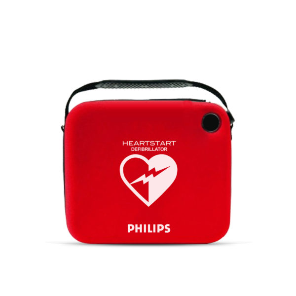 Philips HeartStart HS1 Defibrillator with Slim Carry Case School Package 3