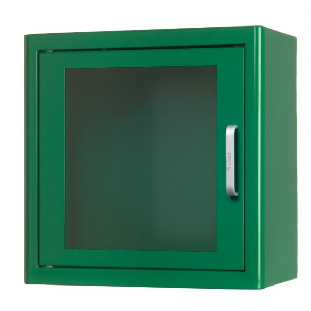 Arky Green Indoor Defibrillator AED Cabinet With Alarm 60122