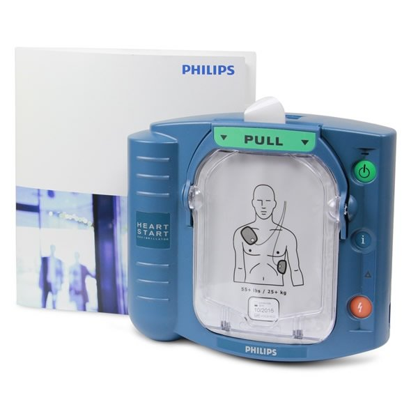Philips HeartStart HS1 Defibrillator with Slim Carry Case
