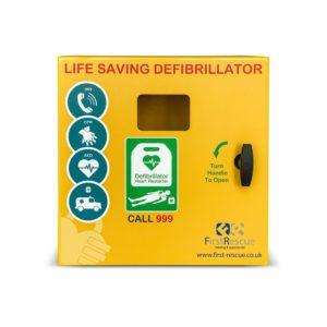 Defib Store 1000 Stainless Steel Defibrillator Cabinet (Unlocked)