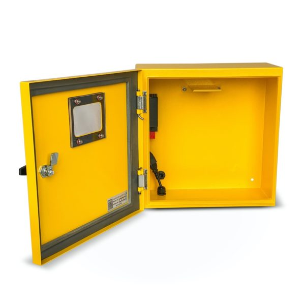 Defib Store 1000 Stainless Steel Defibrillator Cabinet (Unlocked) 2