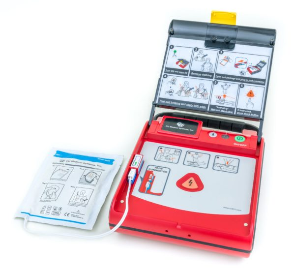 I-PAD SAVER NF1201 Fully-Automatic Defibrillator Outdoor Package 1