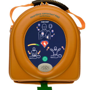 HeartSine 500P Defibrillator with CPR Advisor 2