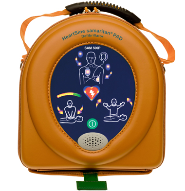 HeartSine 500P Defibrillator with CPR Advisor 3