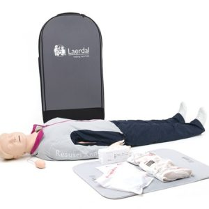 Laerdal Resusci Anne First Aid Full Body Manikin with Trolley Bag 170-01250