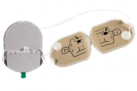 HeartSine PAD-Pak™ combined battery & electrodes