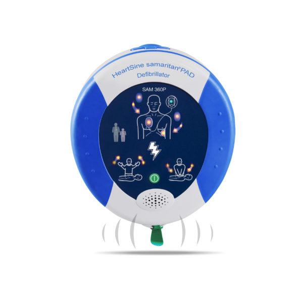 HeartSine Samaritan PAD 360P Fully-Automatic Defibrillator