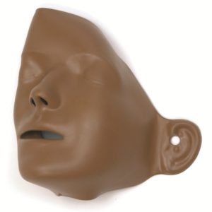 Laerdal Adult Manikin Faces (pack of 6) Dark Skin