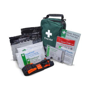 Personal Trauma Kit with Chito-SAM 100 Z-Fold Dressing