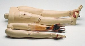 Laerdal Resusci Anne First Aid/Trauma Module (Arms & Legs) with Soft Pack with Softpack 312050