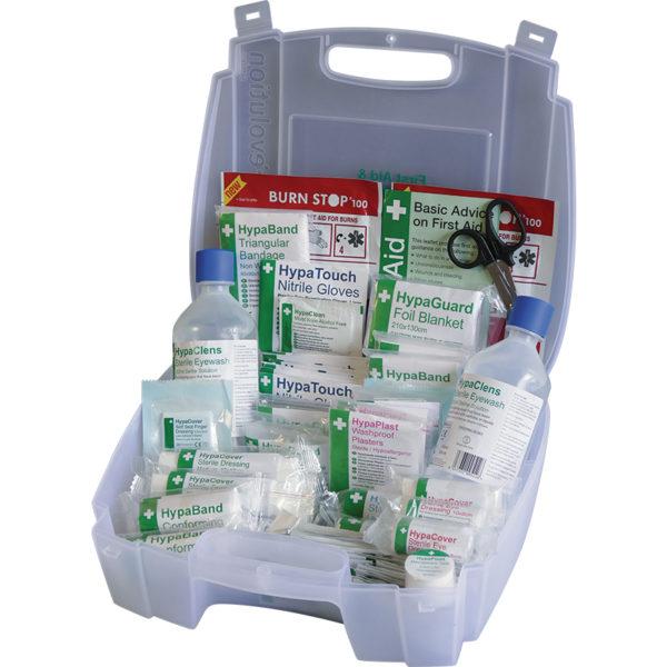 Evolution British Standard Compliant First Aid & Eyewash Kit, Small 1