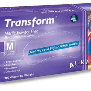 Nitrile Powder-Free Examination Gloves Blue Medium ×200