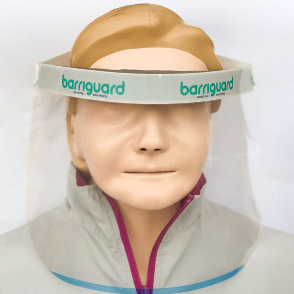 Barriguard Face Shield - EN166 [PPE] Certified